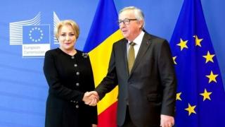 Dăncilă: Juncker a cerut armistiţiu politic în România