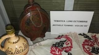 Vița-de-vie, tematica Brumărelului la Muzeul de Artă Populară