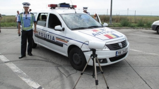 Cetățean german, prins cu 191 km/h pe autostradă