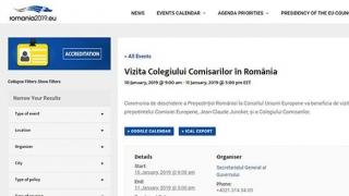Cum este marcată preluarea de România a preşedinţiei Consiliului UE