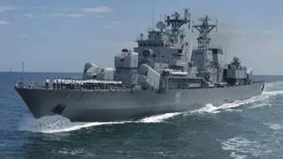 "Ziua distinșilor vizitatori la bordul fregatei ""REGELE FERDINAND"""