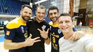 LMV Tricolorul Ploieşti, cu Sergiu Stancu la timonă, a reuşit eventul în voleiul masculin românesc