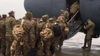 """""""Vulturii Carpaților"""" au plecat azi în Afganistan"""