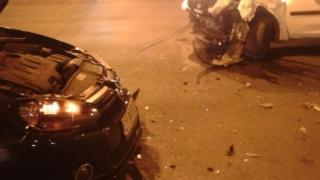 Accident în Constanța! Impact violent în trafic!