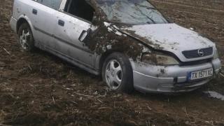 Accident grav în județul Constanța! Mașină răsturnată, persoane încarcerate!