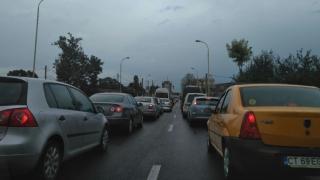 Haos pe străzile Constanţei! Trafic rutier perturbat din cauza furtunii!