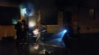 Incendiu într-un apartament din Constanța
