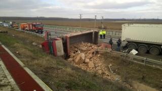 Accident grav pe Autostrada Soarelui! O persoană și-a pierdut viața!