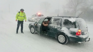 Toate drumurile din județul Constanța, închise! Ce spun autoritățile