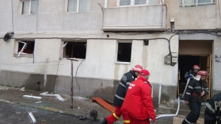 Pompierii, în alertă! Explozie într-o locuință din Constanța!