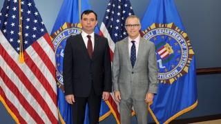 Șeful Poliției Române, întâlnire cu directorul FBI