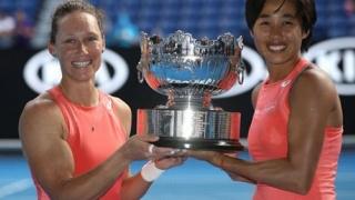 Stosur şi Zhang, învingătoare la dublu feminin la Aussie Open