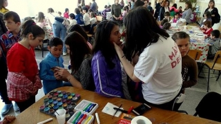 Zâmbete de Primăvară pentru 100 de copii din centre de plasament