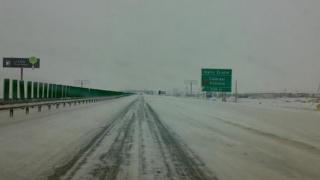 Viscolul şi valul de aer polar ÎNCHID autostrada A2 Bucureşti-Constanţa