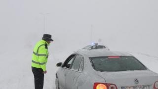 Zăpadă și circulație în condiții de iarnă pe drumurile constănțene