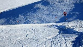 Strat de zăpadă de 10 centimetri și temperaturi de zero grade