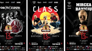 Zilele aniversare: 13 ANI Doors Club