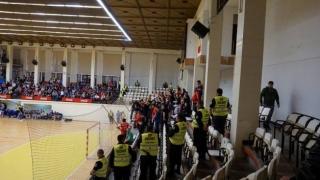 Măsuri de securitate la meciul HC Dobrogea Sud Constanța - FC Porto Sofarma
