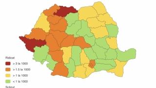 Constanţa, în topul zonelelor cu cele mai multe cazuri nou confirmate de infecţie cu SARS-CoV-2