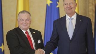 Noul ambasador al SUA la București, primit de Iohannis la Palatul Cotroceni