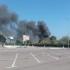 Incendiu la un depozit de artificii din Agigea