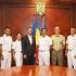 Comandantul navei-școală Palinuro, în vizită la prefectul Constanţei