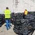 Alt container încărcat cu deșeuri descoperit în Portul Constanța Sud Agigea