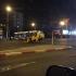 Accident grav pe bulevardul I.C. Brătianu! Un taxi s-a răsturnat!