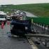 Accident cu 3 victime pe Autostrada Soarelui! Traficul a fost deviat