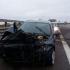 Accident pe A2, km 159. Echipe DRDP intervin pentru degajare
