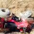 Doi turiști străini au murit după ce ATV-ul în care se aflau a lovit un cap de pod