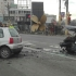 Accident rutier în zona Dacia, Constanța. Pericol de incendiu