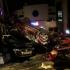 12 mașini distruse într-un accident produs de o femeie
