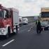 Accident grav pe autostradă! Traficul a fost BLOCAT
