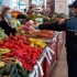 Acțiune de amploare la un depozit de legume-fructe