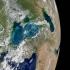 Apele Mării Negre, văzute din satelit în tonuri de bijuterie