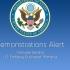 Alertă demonstrații, emisă de Ambasada SUA în România!