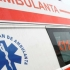 Constanţa: O ambulanţă care transporta un pacient la spital a fost lovită de un taxi