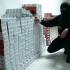 Ascunzătoare inedită: 100.000 de țigarete, în tomberoane de gunoi