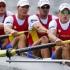 Medalie de aur pentru echipajul de canotaj patru rame masculin al României