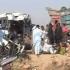 Un autobuz cu pelerini s-a prăbușit într-un defileu. Zeci de morți și răniți