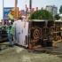 Accident rutier cumplit la intrarea în Constanța. 14 persoane implicate