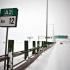 Autostrada A2, închisă din cauza viscolului