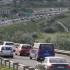 Circulaţie blocată pe Autostrada Soarelui, unde o maşină a luat foc