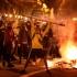 Protestele violente continuă în Barcelona