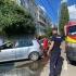 Bebeluş blocat într-un autoturism parcat în Constanța, salvat de pompieri