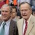 Foștii președinți Bush nu îl sprijină pe Trump în campania electorală