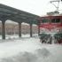 Călătoria cu trenul, un coșmar cu îngheț și întârzieri uriașe
