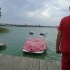 Alertă! Mai multe persoane s-au răsturnat cu barca pe lacul Siutghiol!