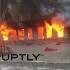 Incendiu într-o clădire din Suedia